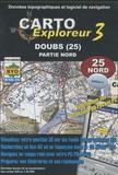 Bayo - Carto explorateur Doubs (25) - CD Rom, Partie nord.