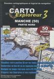 Bayo - Carto explorateur Manche (50) - CD Rom, Partie nord.