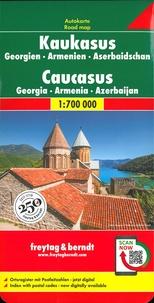 Freytag & Berndt - Caucase - Géorgie, Arménie, Azerbaïdjan, 1/700 000.
