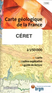 BRGM - Céret - 1/50 000.