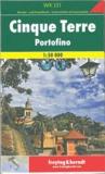 Freytag & Berndt - Cinque Terre, Portofino - 1/50 000.