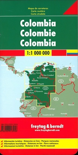 Colombie. 1/1 000 000
