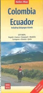 Nelles - Columbia Ecuador, Including Galapagos Islands - 1/2 500 000.