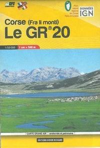 Didier Richard Libris - Corse, le GR20 - 1/50 000.