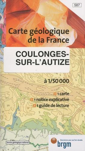 BRGM - Coulonges-sur-l'Autize - 1/50 000.