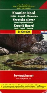 Freytag & Berndt - Croatie du Nord - 1/200 000.