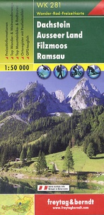 Freytag & Berndt - Dachstein ; Ausseer Land ; Filzmoos ; Ramsau - 1/50 000.