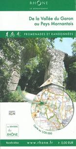 Conseil Général du Rhône - De la vallée du Garon au pays Mornantais - 1/30 000.