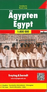 Freytag & Berndt - Egypte - 1/800 000.