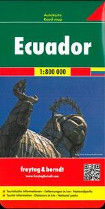 Freytag & Berndt - Equateur - 1/800 000.