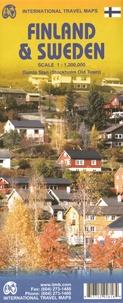 International Travel Maps - Finlande & Sweden - 1/1 200 000.