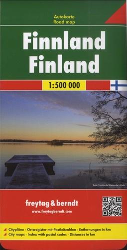 Freytag & Berndt - Finlande - 1/500 000.