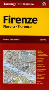 Touring Club Italiano - Florence - 1/12 500.