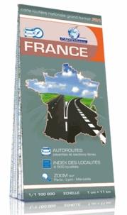 Cartothèque - France, carte routière grand format - 1/1 100 000.