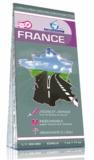 Cartothèque - France, carte routière indéchirable recto-verso - 1/1 100 000e.