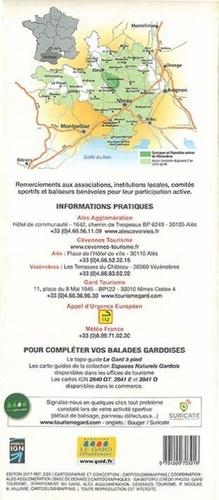 Garrigues et vignobles autour de Vézénobres - La Régordane et le Gardon