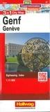 Hallwag International - Genève - 1/11 000, Edition français-anglais-allemand-italien.