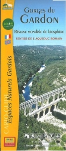 CDT Gard - Gorges du Gardon, sentier de l'Aqueduc romain - 1/30 000.