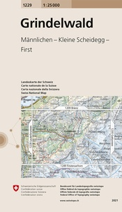 Bundesamt für landestopographi - Grindelwald - 1/25 000.