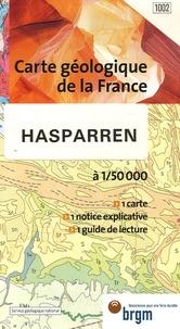 Service Géologique National - Hasparren - 1/50 000.