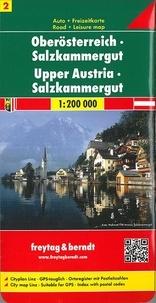 Freytag & Berndt - Haute Autriche - 1/200 000.