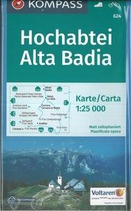 Kompass - Hochabtei, Alta Badia - 1/25 000.