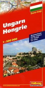 Hallwag International - Hongrie - 1/500 000.