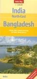 Nelles - India North East Bangladesh - 1/1 500 000.