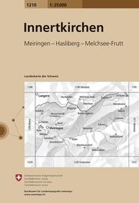 Swisstopo - Innertkirchen - 1/25 000.