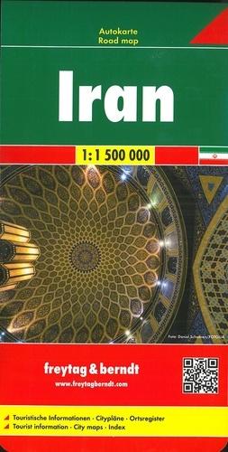 Freytag & Berndt - Iran - 1/1 500 000.