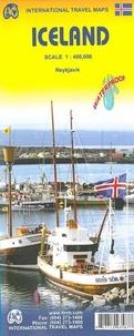 ITMB - Islande - Reykjavik - 1 : 400 000.