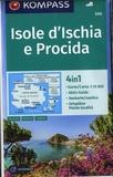 Kompass - Isole d'Ischia e Procida - Editions en allemand, anglais, italien,.