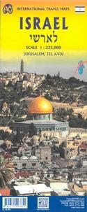 ITMB - Israel & Palestine - Jerusalem, Tel Aviv - 1/225 000.