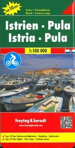 Freytag & Berndt - Istrie-Pula - 1/100 000.