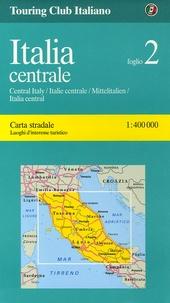 Touring Club Italiano - Italia Centrale - 1/400 000.