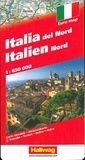 Hallwag International - Italie du Nord - 1/650 000.