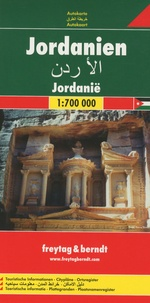 Freytag & Berndt - Jordanie - 1/700 000.