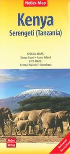 Nelles - Kenya - Serengeti (Tanzania) 1/1 100 000.