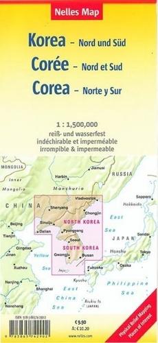 Korea North and South. 1/1 500 000