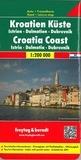 Freytag & Berndt - Kroatien Küste - Istrien, Dalmatien, Dubrovnik.
