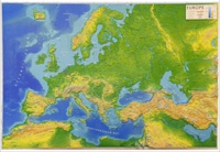 Reliefs Editions - L'Europe - 1/11 000 000.
