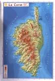 Reliefs Editions - La Corse (Petit format).