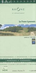 Département du Rhône - Le Franc-Lyonnais - 1/25 000.
