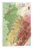 Reliefs Editions - Le Jura.