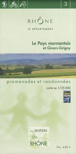 Département du Rhône - Le Pays mornantais et Givors-Grigny - 1/25 000.