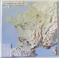 Reliefs Editions - Les vignobles de France.