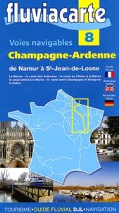 Philippe Devisme et Patrick Join-Lambert - Les voies navigables de Champagne-Ardennne - De Namur à Saint-Jean-de-Losne par la Meuse et son canal, le canal des Ardennes, le canal de l'Aisne à la Marne, le canal latéral à la Marne, le canal entre Champagne et Bourgogne et la Saône.