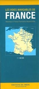 Edition du Breil - Les voies navigables de France - 1/1 000 000.