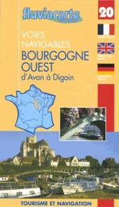 Editions de l'Ecluse - Les voies navigables de la Bourgogne ouest d'Avon à Digoin - Par les canaux du Loing, de Briare, latéral à la Loire, l'Yonne et le canal du Nivernais.