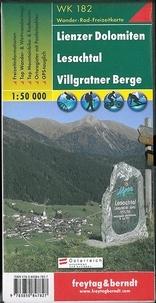 Freytag & Berndt - Lienzer Dolomiten, Lesachtal, Villgratner Berge - 1/50 000.